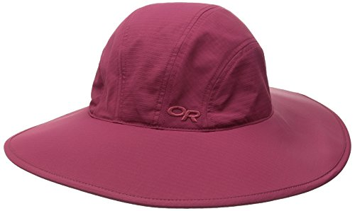 Outdoor Research Women's Oasis Sun Sombrero, Mulberry, Large