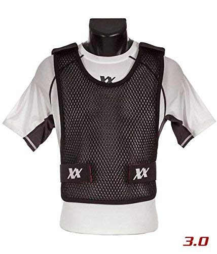 Maxx-Dri Vest 3.0 Body Armor Cooling Ventilation Airflow Tactical Vest (Black, M/L 1-Pack)