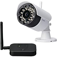 Lorex Vantage LW2231 Wireless Security Surveillance Camera, White