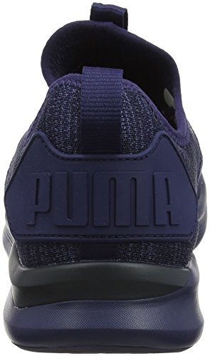 Cross Anthracite de XX Peacoat Ignite Puma Chaussures Flash Noir Bleu Homme Evoknit w41X6T