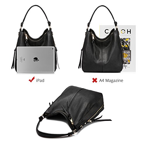 a4dababe8 Realer Shoulder Bags for Women Large Ladies Crossbody Bag with Tassel… by  Realer (Image