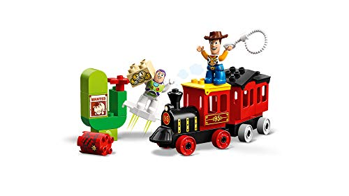 41wIqPG ozL - LEGO DUPLO Disney Pixar Toy Story Train 10894 Building Blocks (21 Piece), New 2019