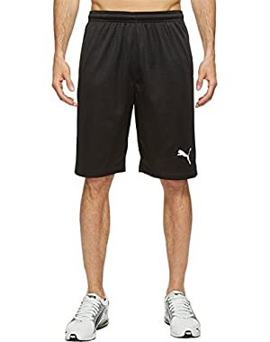 Mens Faded Poly Shorts