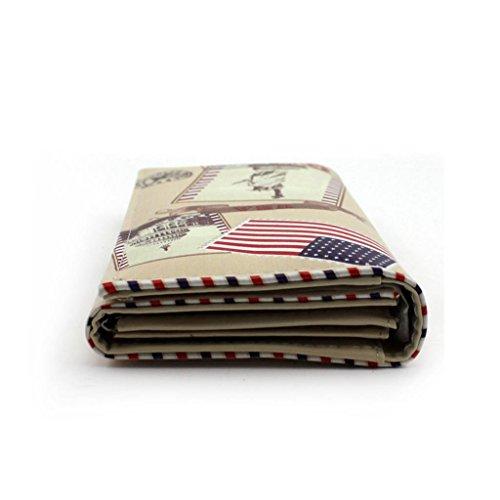 HuntGold 1X Mode Lange Geldbeutel Handtasche PU Leder Folding Brieftasche (C)