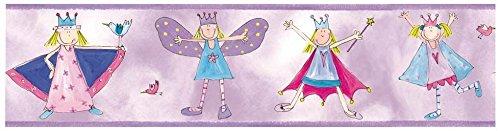 RoomMates Fairy Princess Wallpaper Border (RMK1014BCS)