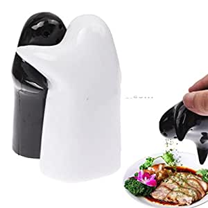 The Fashion Seller-Creative Hugging Ghost Condiment Bottles / Salt Pepper Shakers ~