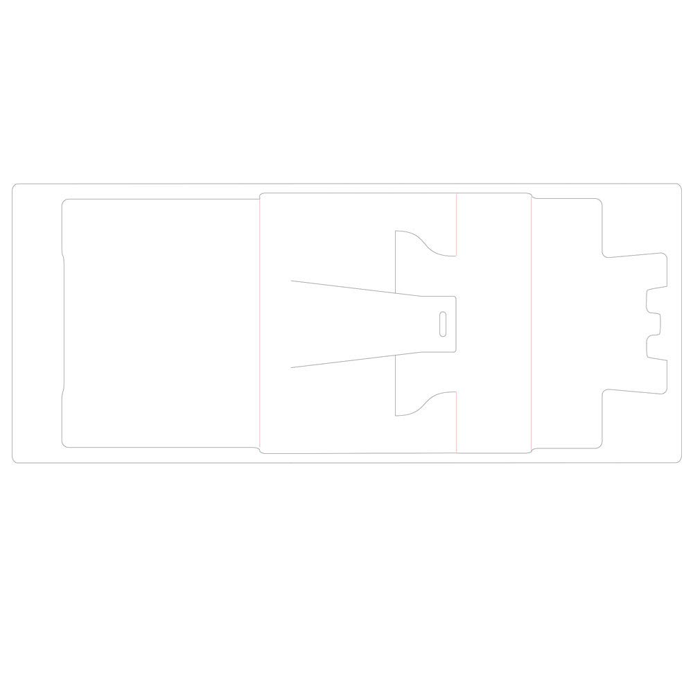 Sizzix Die Display Stand by Fustella ScoreBoards XL 664346 Espositore di Eileen Hull Taglia unica Multicolore