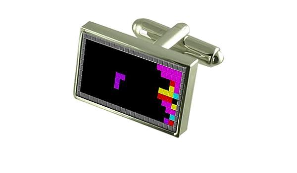 Select Gifts Tetris Block Game Gemelos Crystal Clip de Corbata Bar ...