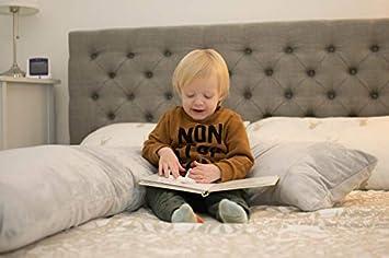 almohada para el cuerpo con funda extra/íble y lavable almohada de maternidad con forma de L y ganadora de varios premios SnuggleUp almohada de embarazo