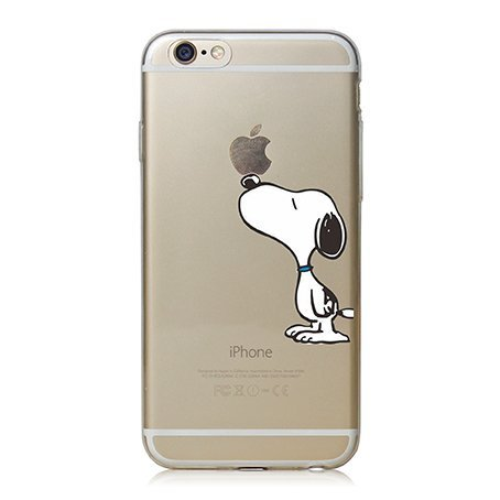 23 opinioni per iPhone Cover di licaso® per il Apple iPhone 6 & 6S di TPU Silicone Snoopy