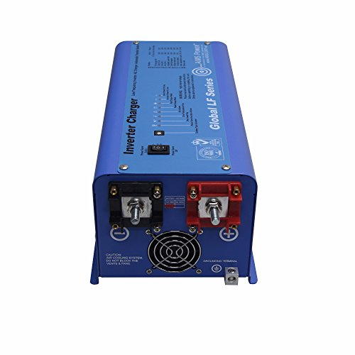 AIMS Power 600 Watt Pure Sine Inverter Charger 12V ETL Certified to UL 458 by Aims (Image #1)