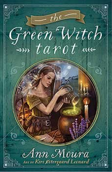 Fortune Telling Tarot Cards Green Witch tarot deck & book by Ann Moura