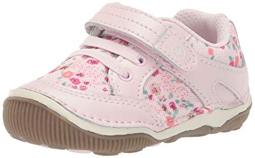 - Stride Rite SRTech Rosie Girl's Casual Sneaker, Blush Floral, 8 W US Toddler