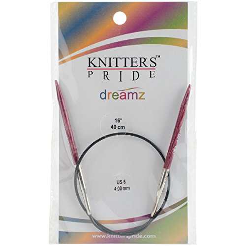 Knitter's Pride 6/4mm Dreamz Fixed Circular Needles, 16