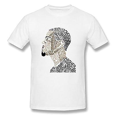 JIAYUHUA Men's J. Cole T-shirt M