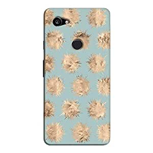 Cover It Up - Sand Star Cyan Pixel 2 XL Hard Case