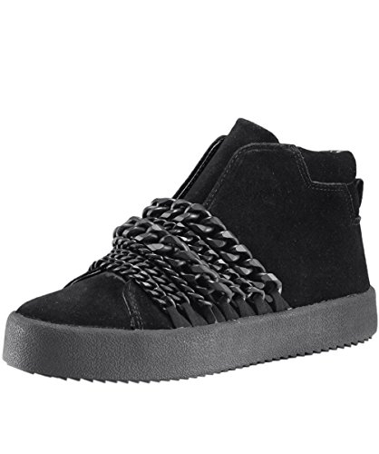 Kylie Negro Ante Duke Mujer de Zapatillas Zapatos amp; Kendall qC5w4px
