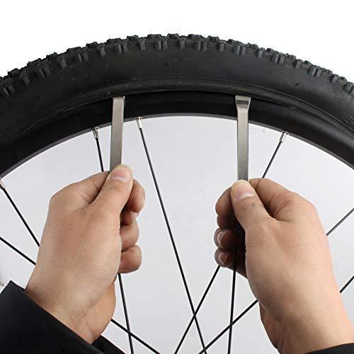 Huangthrostore 3 Piezas Bicicleta Neumático Palancas Neumático ...