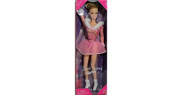Amazon.com: Joya patinaje muñeca Barbie – Wal Mart edición ...