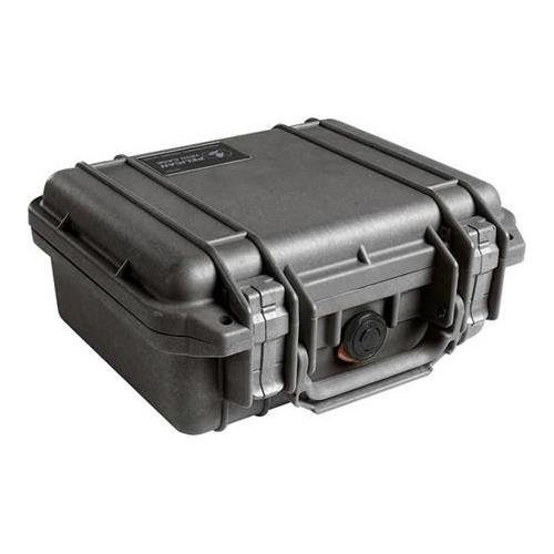 Pelican 1200 - Case 9.25X7.12X4.12In , - Case 1200 Black Pelican