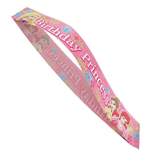 (Disney Princess Birthday Sash)