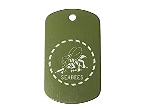 """ODG Dog Tag Kit with 30"""" Chain & Silencer - Choose Your Design by NDZ Performance"""