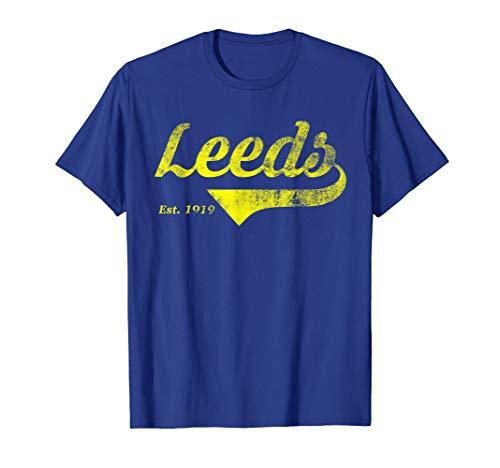 LEEDS United Tee Retro Style Vintage East 1919 Gift T-Shirt