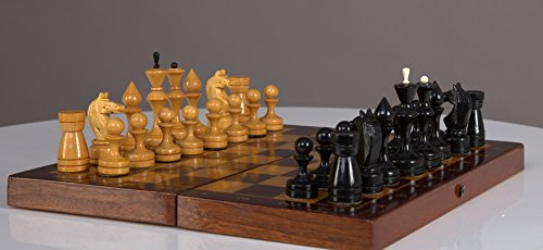 GIFT FOR HIM Soviet chess set 1960s USSR Wooden Board 30x30 cm