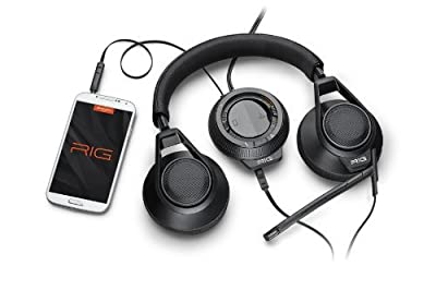 Plantronics RIG Stereo Gaming Headset with Mixer for PC/Mac - Retail Packaging
