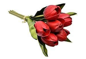 Artificial Tulip Flowers, Indoor Decoration Flowers, Bridal Wedding Bouquet, Artificial Flowers