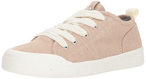(Roxy Women's Thalia Fashion Sneaker Shoe, tan, 7 M)