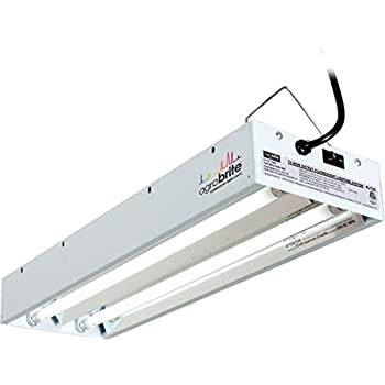 Agrobrite FLT22 T5 Fluorescent Grow Light System, 2 Foot, 2 Tube