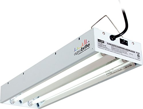 Agrobrite FLT22 T5 Fluorescent Grow Light System, 2 Foot, 2 Tube by Hydrofarm