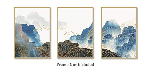 OAT ART STUDIO Landscape Nordic Abstract Modern Decorative for sale  Delivered anywhere in Canada