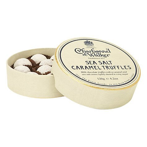 Charbonnel et Walker Sea Salt Caramel Truffles 135g by Charbonnel et Walker