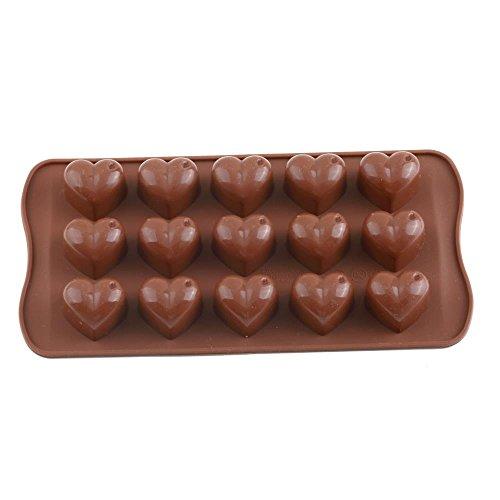 Silicone Ice Cube Tray Chocolate Fondant Cake Jelly Pan Shape Heart Maker Mould Kitchen Baking Cake Tools