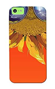 Inthebeauty Case Cover For Iphone 5c - Retailer Packaging Vintageunflower Protective Case