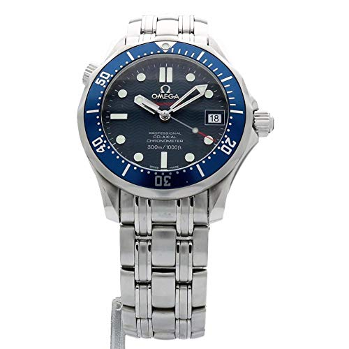 - Omega Seamaster Swiss-Automatic Male Watch 2222.80 (Certified Pre-Owned)