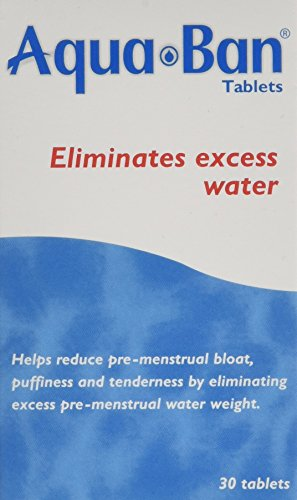 Aquaban Eliminates Excess Water - Pack of 30 Tablets
