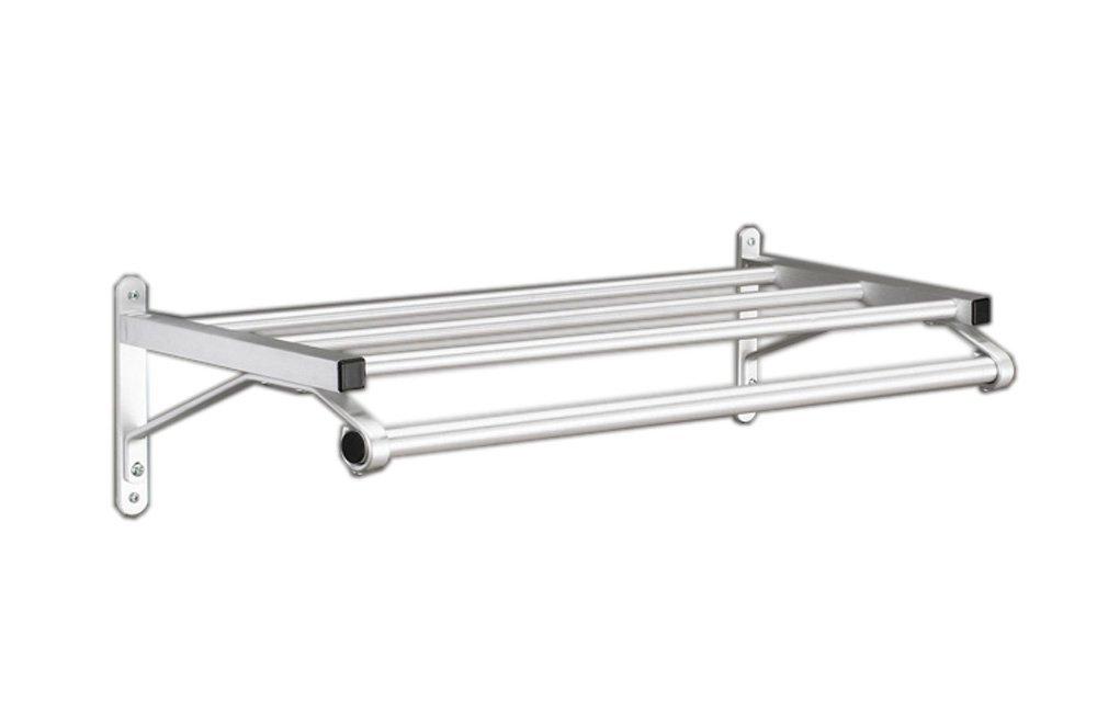 Glaro 500SA-60 500 Series Wall Racks 60'' With Shelf And Hanger Bar