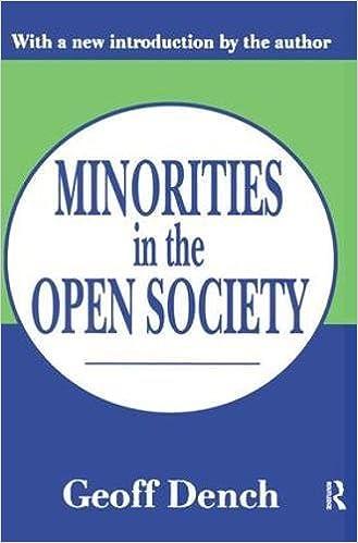 Minorities in an Open Society