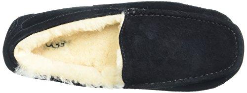 AustraliaAscot Black Uomo Suede Pantofole UGG 8HAdww