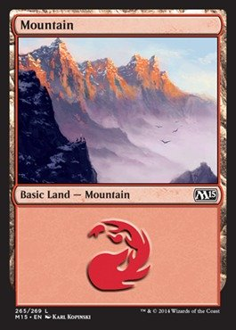 (Magic: the Gathering - Mountain (265/269) - Magic 2015 -)