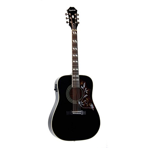 Epiphone Hummingbird PRO Acoustic-Electric Guitar Ebony