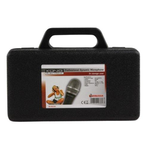 König KN-MIC50C Dynamisches Mikrofon mit Koffer