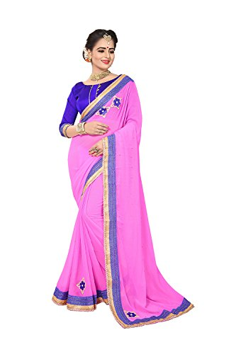 Indian Sarees For Women Wedding Light Pink Designer Party Wear Traditional Sari by Dessa Collections