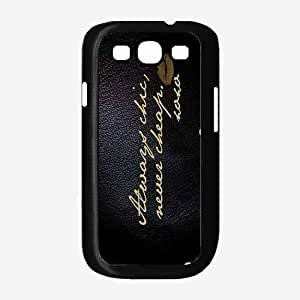 Always Chic but Never Cheap Plastic Phone Case Back Cover Samsung Galaxy S3 I9300