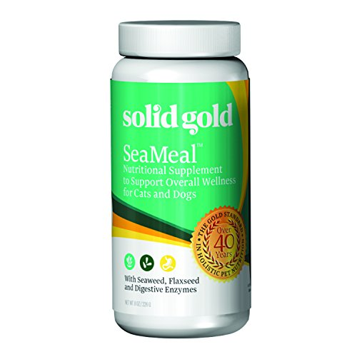 Discontinued By Manufacturer: Solid Gold SeaMeal Supplement for Dogs & Cats, 8oz