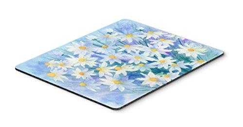 (Caroline's Treasures Light & Airy Daisies Mouse Pad, Hot Pad or Trivet, Multicolor (IBD0255MP))