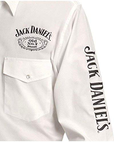 Jack Daniels Men's Daniel's Logo Rodeo Cowboy Shirt for sale  Delivered anywhere in Canada